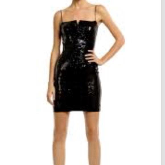Nicole Miller Dresses Futuristic Black Cocktail Dress Poshmark